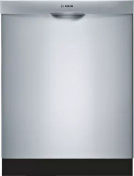 Bosch Silence Plus 48 Dba : bosch, silence, Bosch, SHE43RL5UC, Fully, Integrated, Dishwasher, 14-Place, Settings,, Cycles,, Options,, Sanitize, Option,, Series, Upper, Stainless, Steel