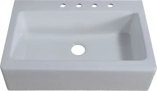 single bowl cast iron kitchen sink white kitchens cabinets empire industries ci33sw 33 inch farmhouse