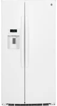 GE GSE25HGHWW 36 Inch Side-by-Side Refrigerator with 25.4