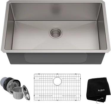 30 kitchen sink barbie sets kraus khu10030 inch undermount single bowl with 16 standart pro series