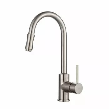 pull out kitchen faucets aid mixer attachments kraus kpf1622sn single handle down faucet with dual series