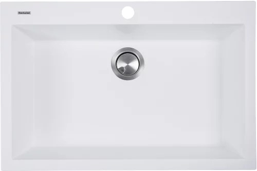 30 kitchen sink low cost modular nantucket sinks pr3020dmw inch dual mount granite composite plymouth collection white top view