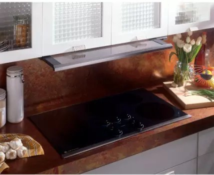 GE JV960SCBR 36 Inch Under Cabinet Slide Out Range Hood With 300 CFM Internal Blower Variable