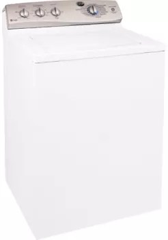 GE WPRE6100GWT 27 Inch TopLoad Washer with 35 cu ft Capacity Multiple Wash Cycles 5 Wash
