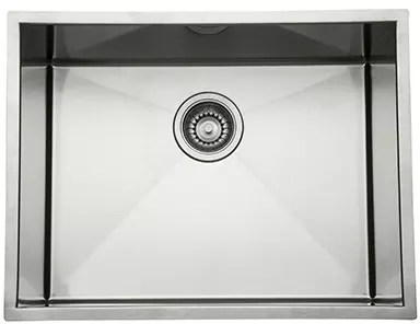24 inch kitchen sink orange rug rohl rss2115sb under mount single bowl stainless steel undermount