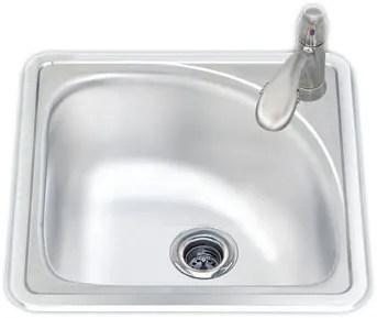 scr15151 15 inch top mount single bowl