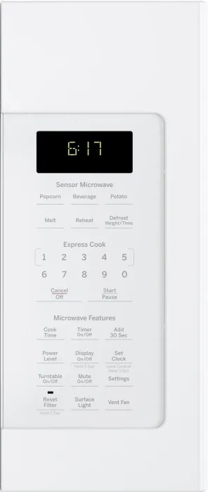GE JVM6175DKWW 1.7 cu. ft. Over-the-Range Microwave with