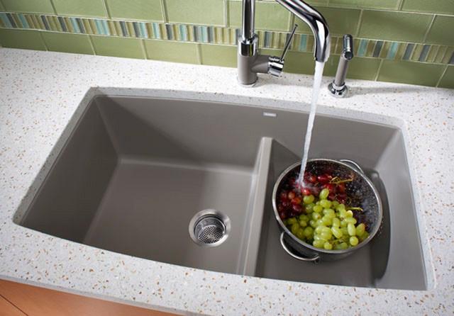 Blanco 441310 33 Inch Undermount Double Bowl Granite Sink