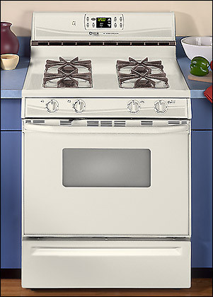 Maytag PGR5715BDW Performa 30 Inch Free Standing Gas Range