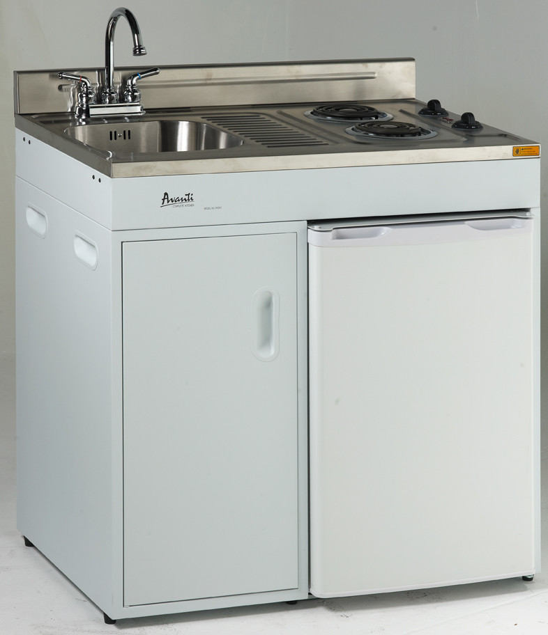 Avanti CK362 36 Inch Complete Compact Kitchen with 38 cu