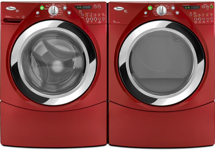 Whirlpool WFW9470WR 27 Inch FrontLoad Washer with 39 cu ft Capacity 12 Wash Cycles 4