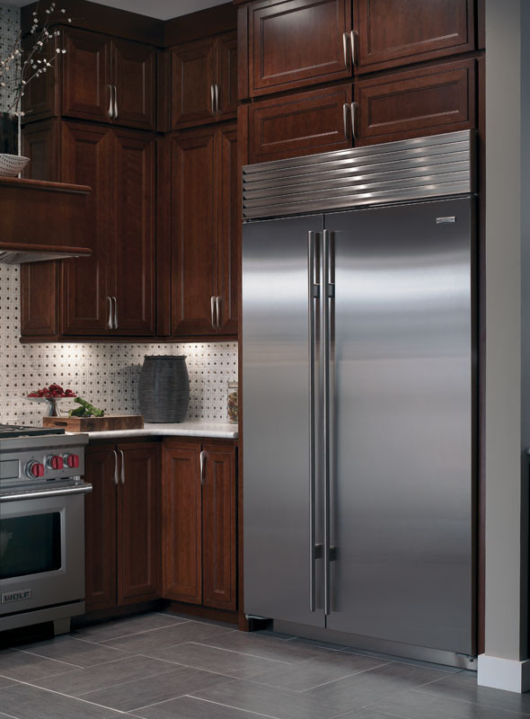 SubZero BI48SO 48 Inch Builtin SidebySide Refrigerator