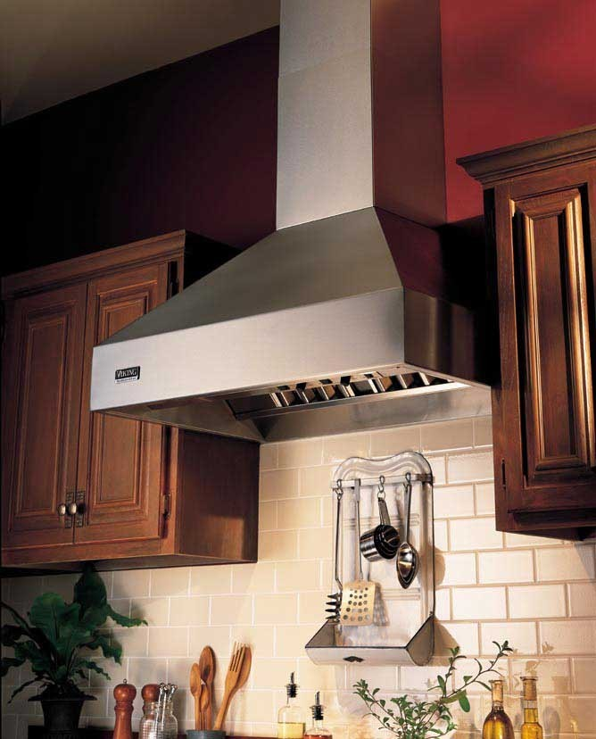 Viking VCWH4848WH 48 Inch Wall Mount Chimney Range Hood