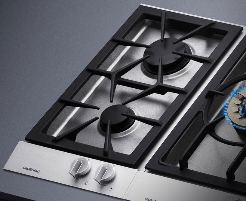 Gaggenau VG232214CA 12 Inch Gas Modular Cooktop with 2 Sealed Burners 9500 BTU HighOutput