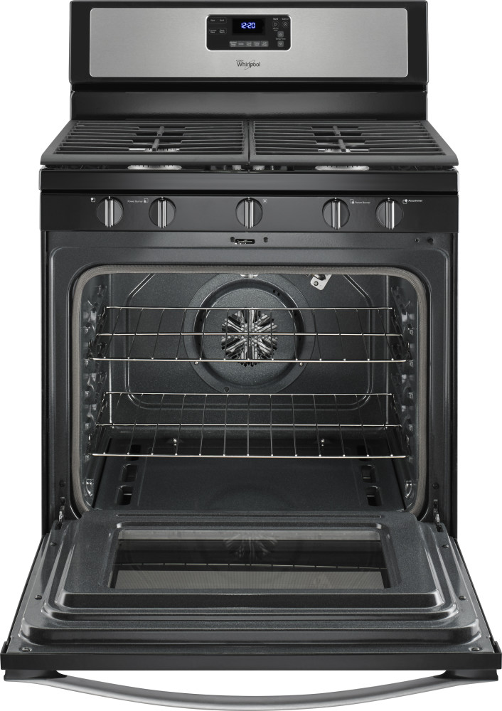 Oven Range Cu 2 Steel Stainless Self Cleaning 6 Convection Whirlpool Gas Ft