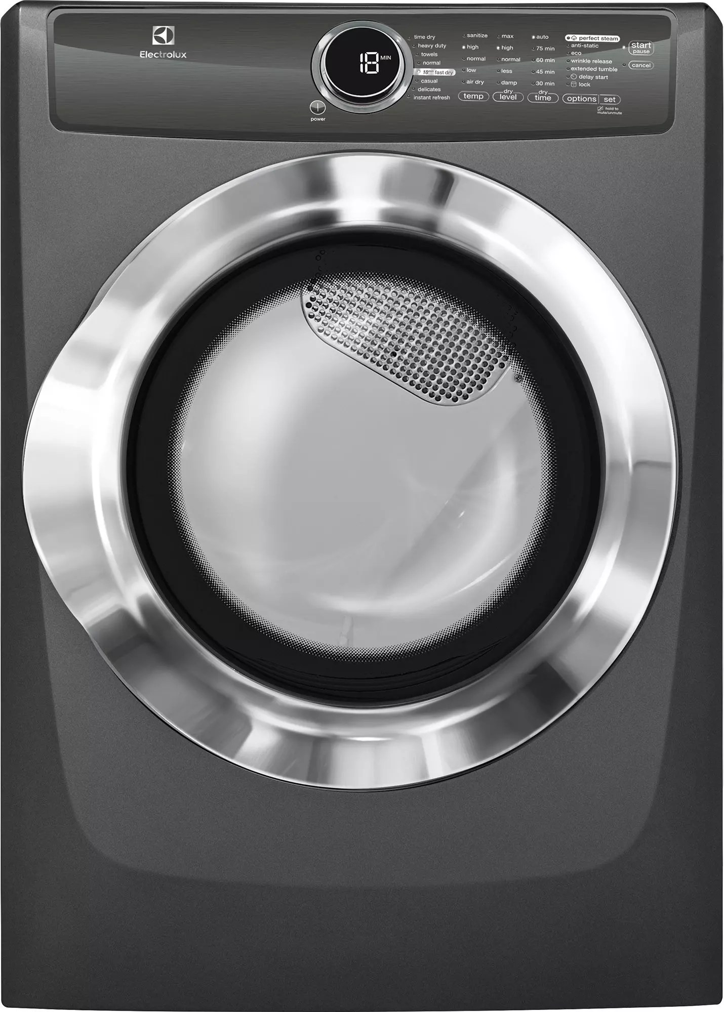 Electrolux EIFLS55QT 27 Inch 42 cu ft Front Load Washer with 11 Wash Cycles 1200 RPM Steam