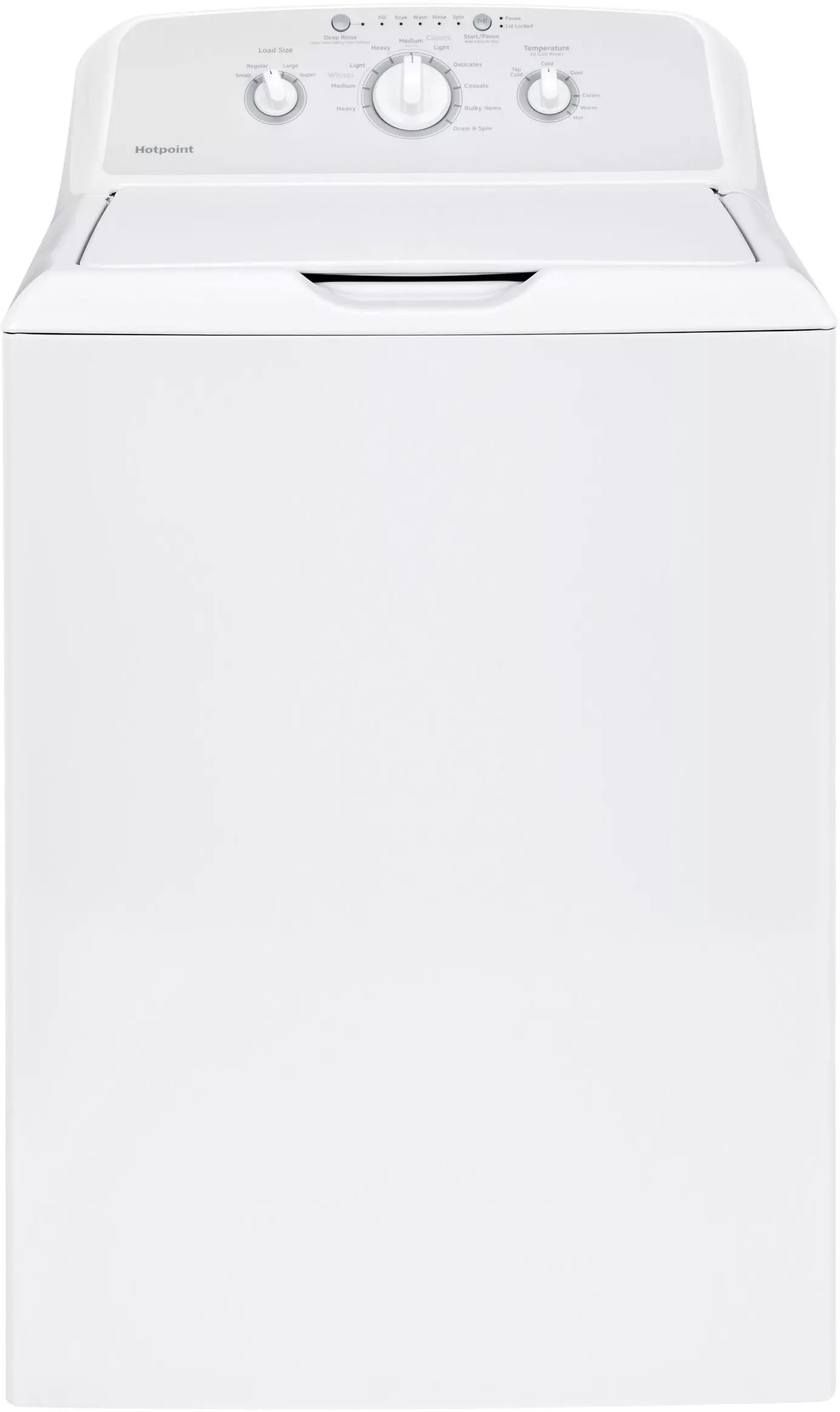Hotpoint HTX24GASKWS 27 Inch Gas Dryer with 6.2 cu. ft