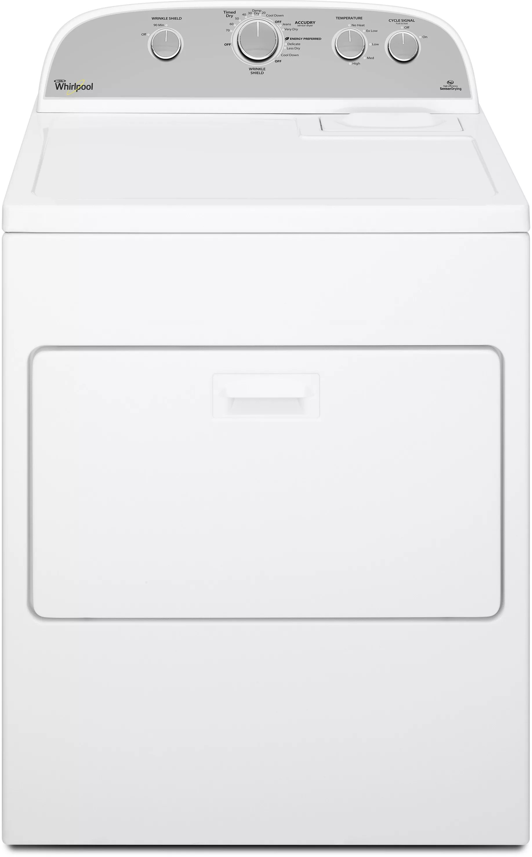 Whirlpool WTW4915EW 27 Inch 36 cu ft Top Load Washer with 12 Wash Cycles 800 RPM Quick Wash