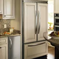 Kitchen Refrigerator Chili Pepper Decorating Themes Refrigerators Custom Panels Can Be Affixed To Freestanding Or Built In Make Them Match Your Basic Color Are Sold By Most Brand