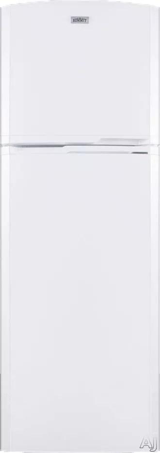 Summit FF946W 22 Inch Top-Freezer Refrigerator with 8.8 cu
