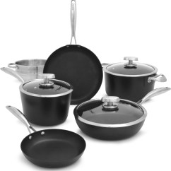 Best Kitchen Hoods Remodel Cost Scanpan 68000900 Pro Iq 9-piece Cookware Set With Ceramic ...