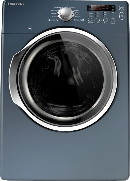 Samsung DV330AEB 27 Inch Electric Dryer with 73 cu ft Capacity 9 Preset Drying Cycles