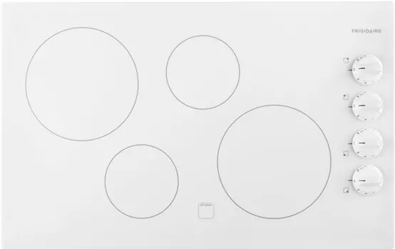 Frigidaire FFEC3225MW 32 Inch Electric Cooktop with 4