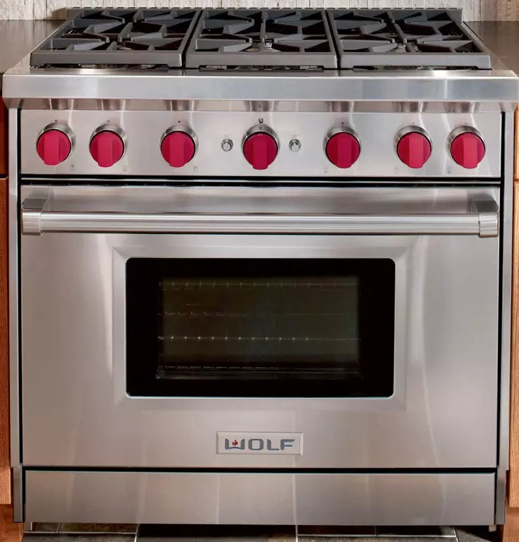 Infrared Convection Countertop Oven Wolf Gr366x 36 Inch Pro-style Gas Range With 6 Dual