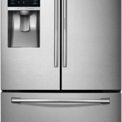 Kitchen Stoves At Lowes Wilson Cabinet Hoosier Rf28hdedbsr Samsung 36 Inch Food Showcase French Door ...