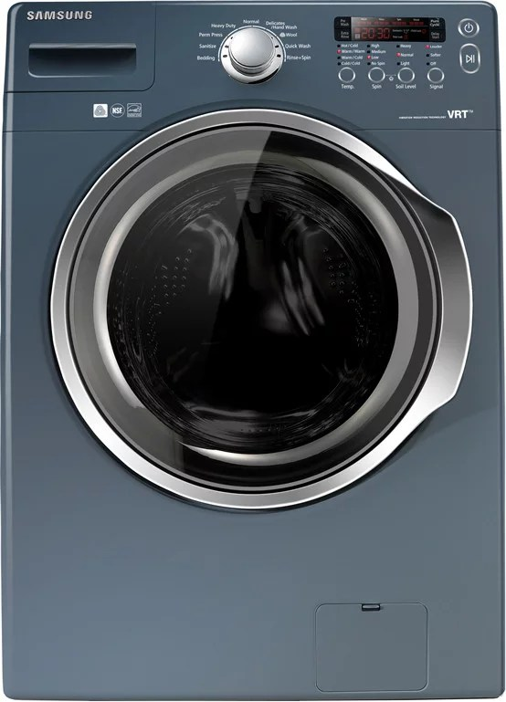 Samsung WF330ANB 27 Inch Front Load Washer with 37 cu ft