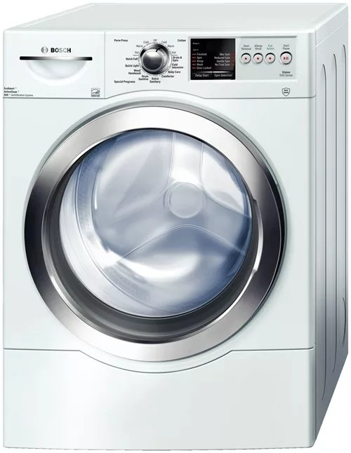 Bosch WFVC6450UC 27 Inch FrontLoad Washer with 44 cu ft