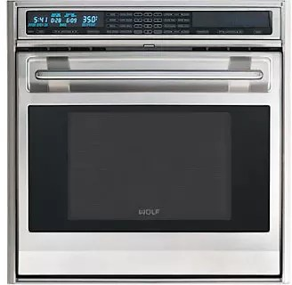 Wolf SO30FS 30 Inch Single Electric Wall Oven With 45 Cu