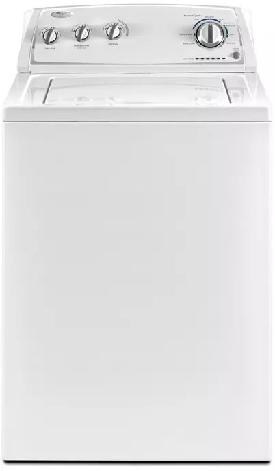 Whirlpool WTW4800XQ 27 Inch TopLoad Washer with 34 cu ft Capacity 8 Cycles 4 Temperatures