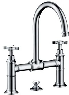 Hansgrohe 16510001 Double Cross Handle Lavatory Faucet