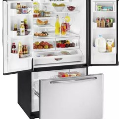Kitchen Appliance Packages Stainless Steel Curtain Fabric For Sale Maytag Mfc2061hes 19.8 Cu. Ft. Counter-depth French Door ...