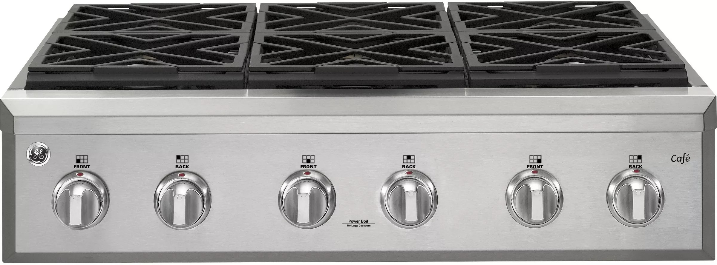 kitchen appliance packages stainless steel cheap backsplash ge cgu366sehss 36 inch natural gas rangetop with ...