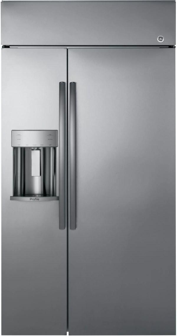 Built in GE Side by Side Refrigerator