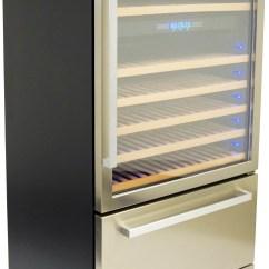 Freestanding Kitchen Cabinet Slate Appliances Thor Hwc2404u 30 Inch Built-in/ Wine ...