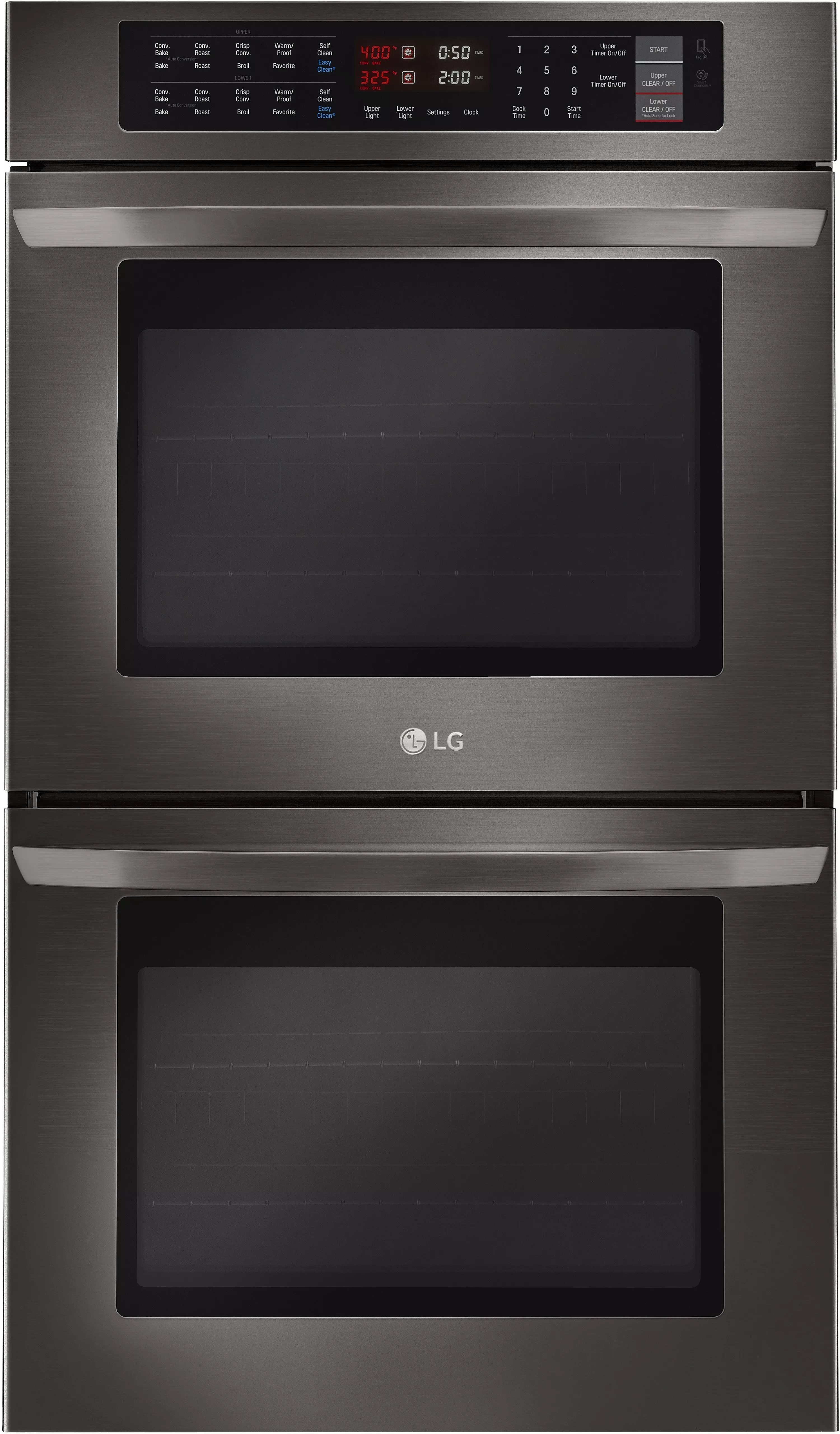 LG LWD3063BD 30 Inch Double Electric Wall Oven with