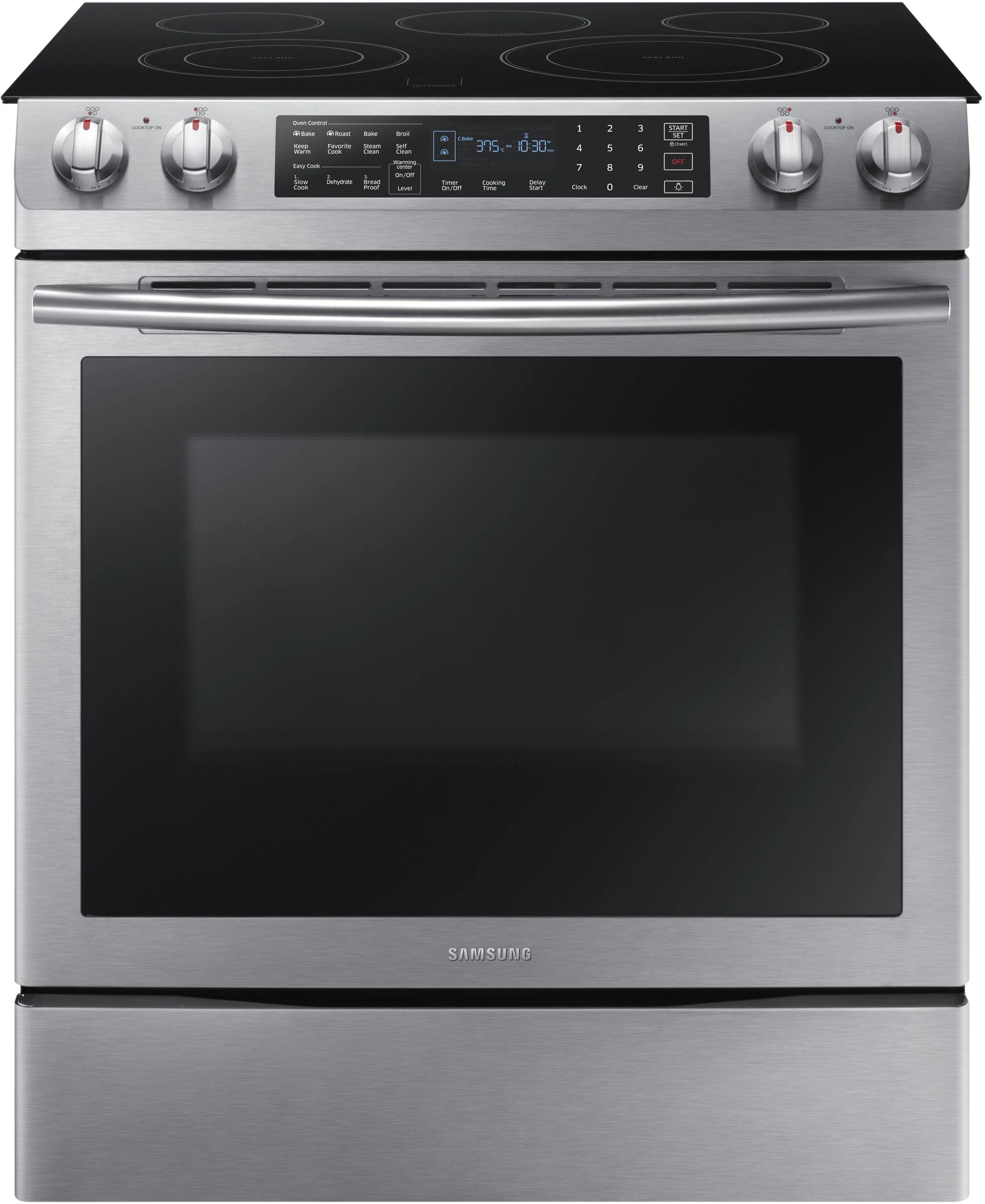 electric stove ford 1g alternator wiring diagram samsung ne58k9430ss 30 inch slide in range with 5