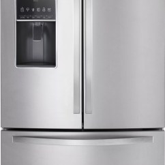 Best Kitchen Water Filter System Rubbermaid Trash Cans Whirlpool Wrf757sdem 36 Inch French Door Refrigerator With ...