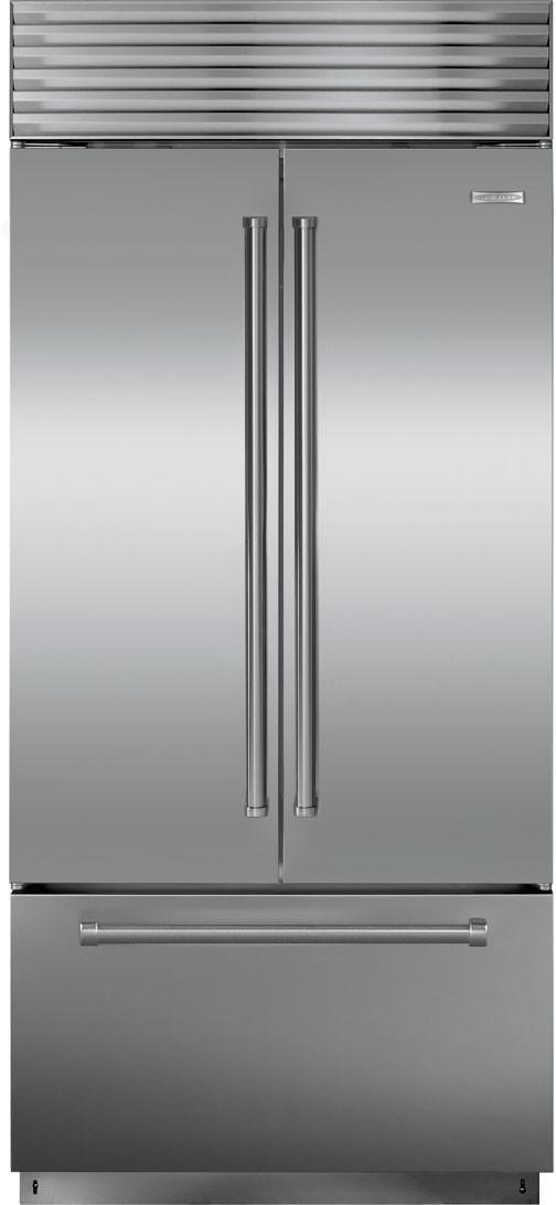SubZero BI36UFD 36 Inch Builtin French Door Refrigerator