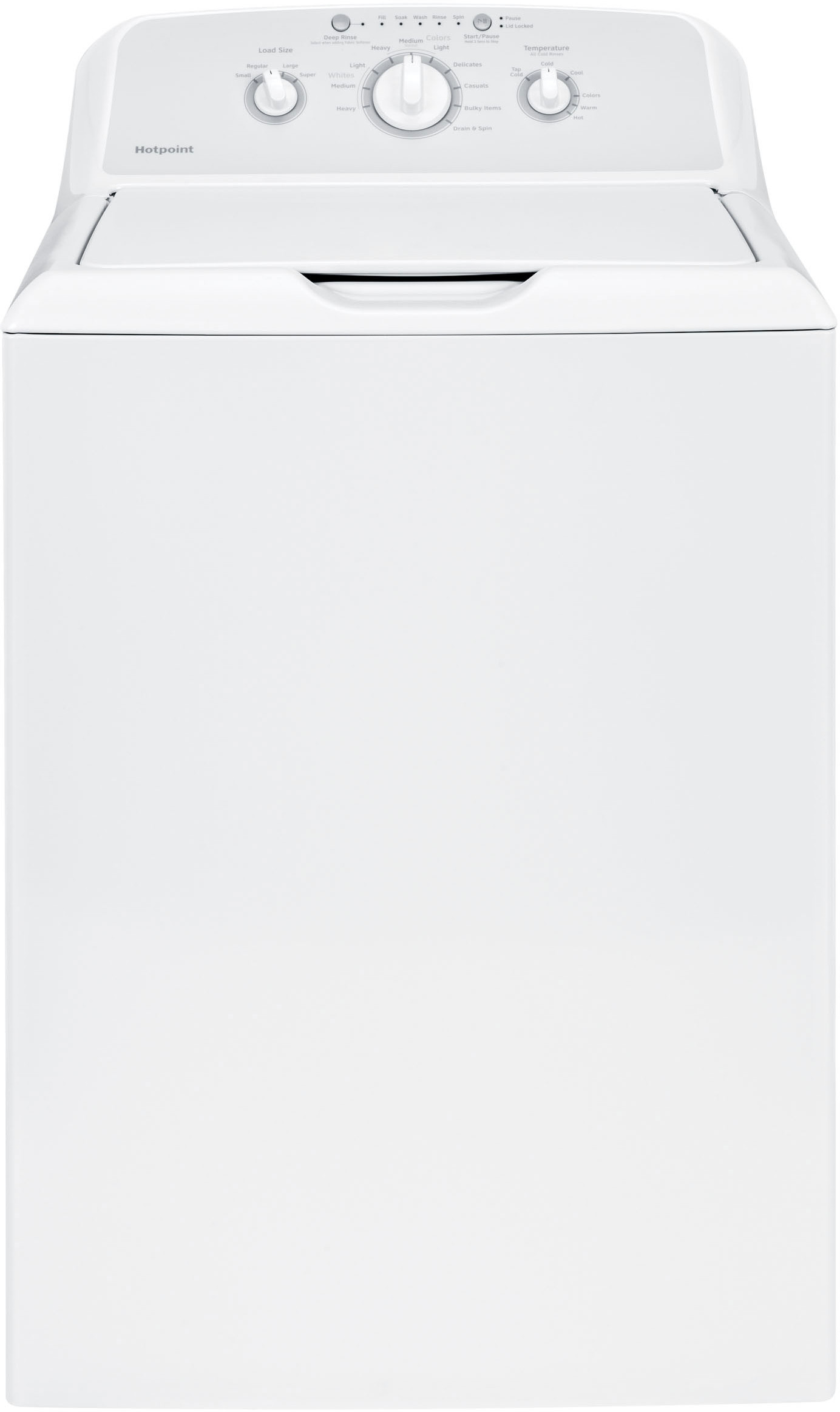 GE HTW240ASKWS 27 Inch Top Load Washer with 3.6 cu. ft