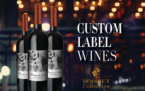 custom wine labels by