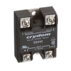 Solid State Relay Wiring Diagram Crydom 39 Trane Xe1000 Thermostat Sensata D2440 Spst No Cur Rtg 40a Vol