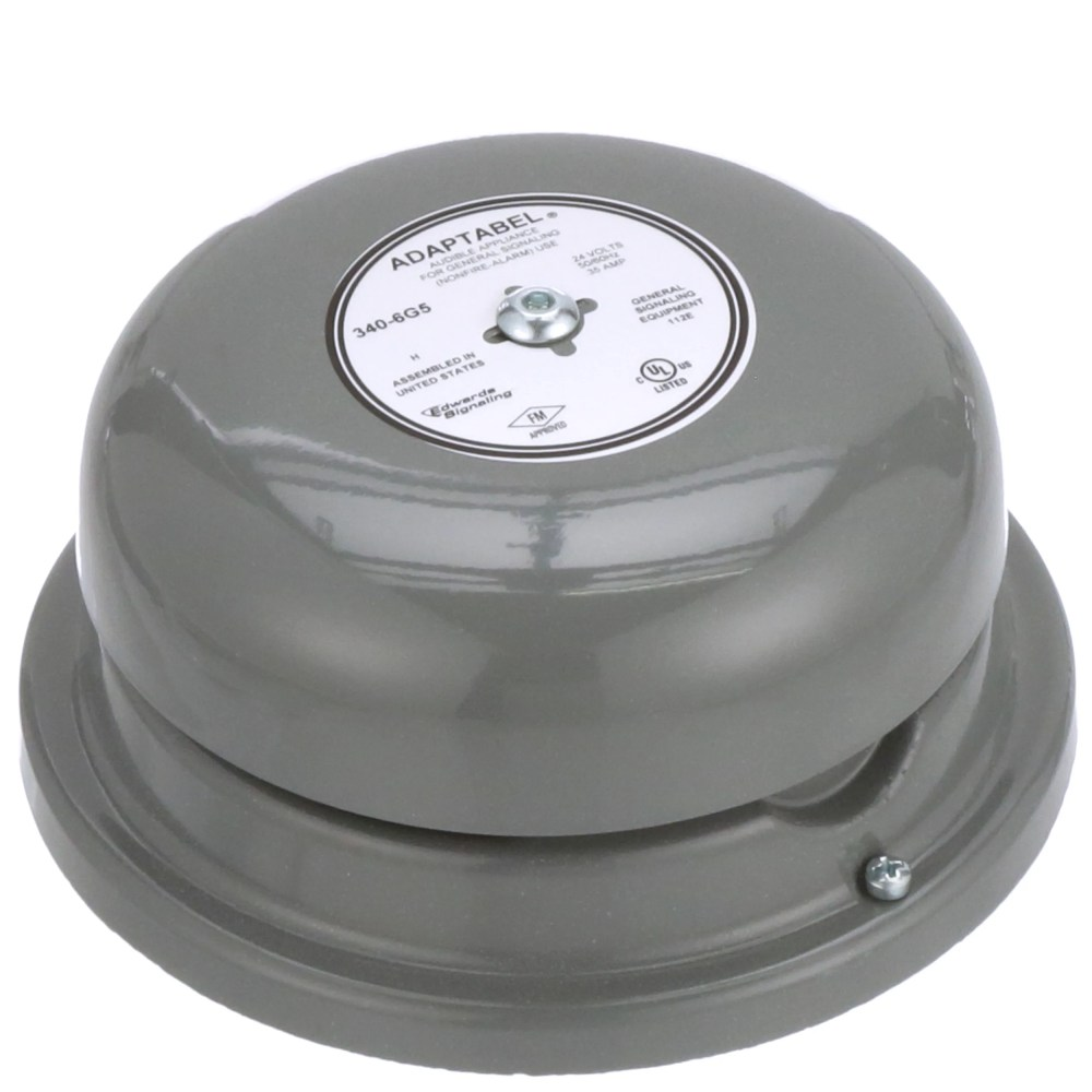 medium resolution of edwards signaling 340 6g5 audio warning device bell vibrating continuous 24vac sup 0 35a 92db allied electronics automation