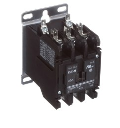 eaton cutler hammer c25dnd330a definite purpose control contactor 3 pole 30a 120vac coil allied electronics automation [ 2500 x 2500 Pixel ]