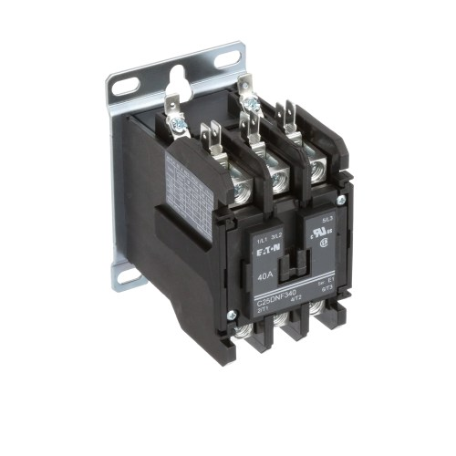 small resolution of eaton cutler hammer c25dnf340a definite purpose control contactor 3 pole 40a 120vac coil allied electronics automation