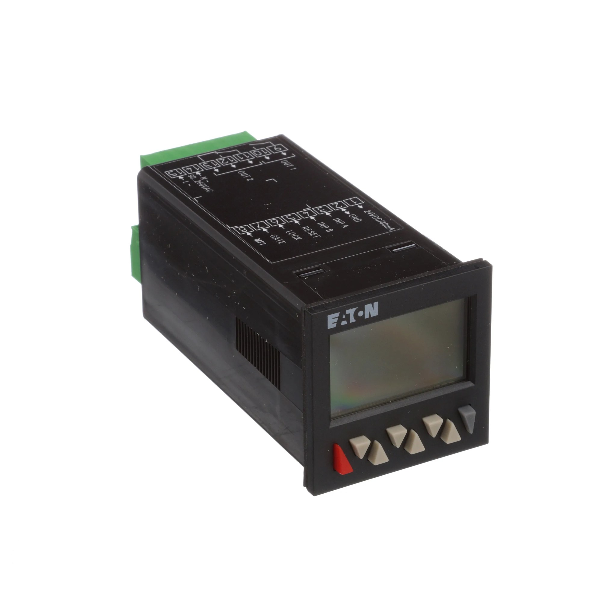 hight resolution of eaton cutler hammer e5 648 c2421 counter preset 1 16 din 2 line lcd 2 presets 90 260vac allied electronics automation