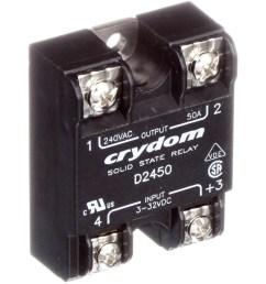 sensata crydom d2450 relay ssr zero switching spst no cur rtg 50a ctrl v 3 32dc vol rtg 24 280ac allied electronics automation [ 2500 x 2500 Pixel ]